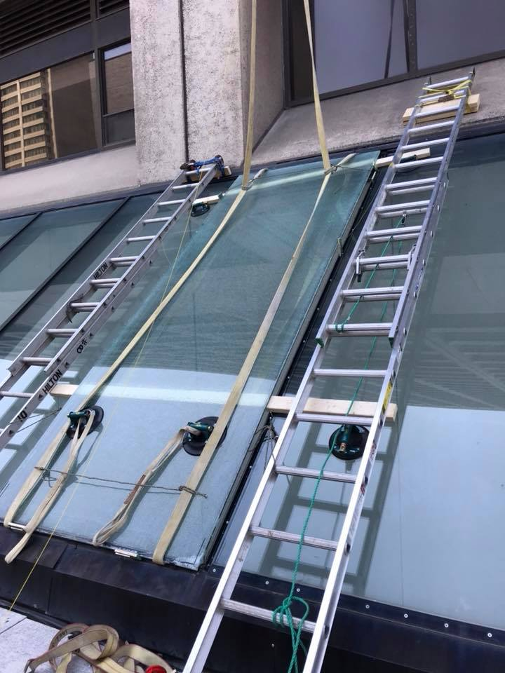 Toronto Hilton Hotel- Skylight Replacement